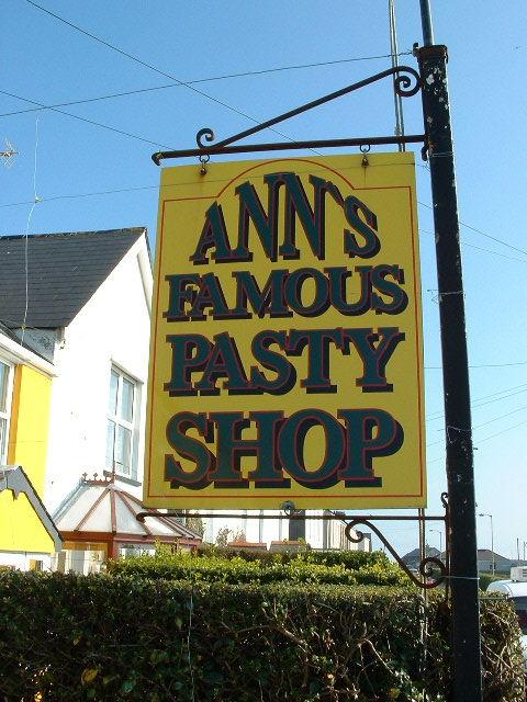 ANNS FAMOUS PASTY SHOP