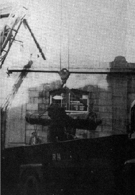 HMS ANSON CANNON