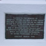 HMS ANSON MEMORIAL
