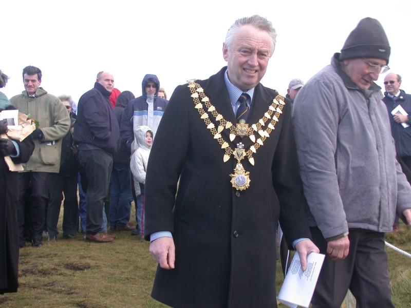 Mr. Ronnie Williams, Mayor of Helston.