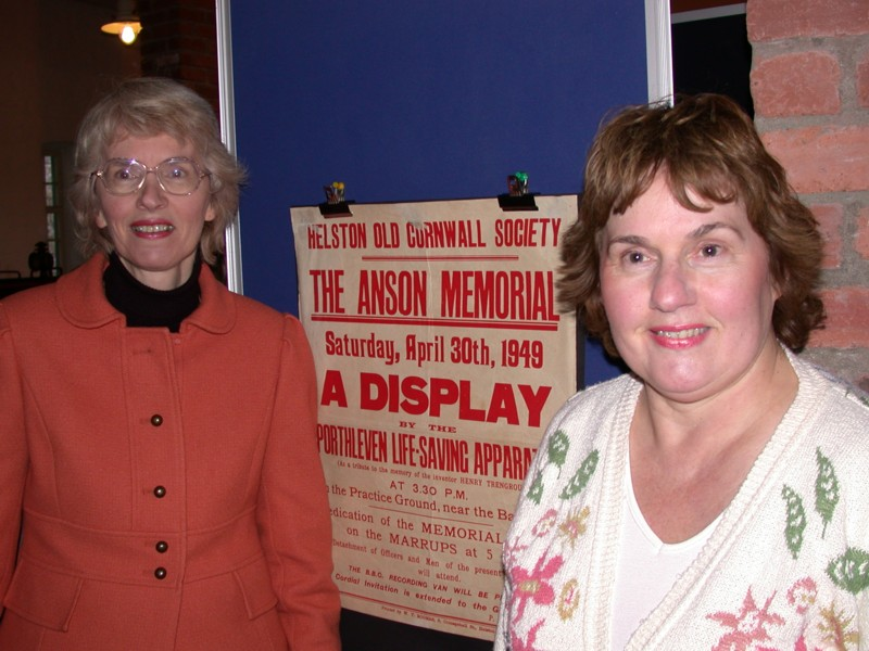 Alexandra Ayton & Louise Gardner (Great, Great, Great, Great, Great Grand-daughters of Henry Trengrouse)