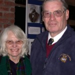 Diane & David Barlow (Organisers of the commemoration)