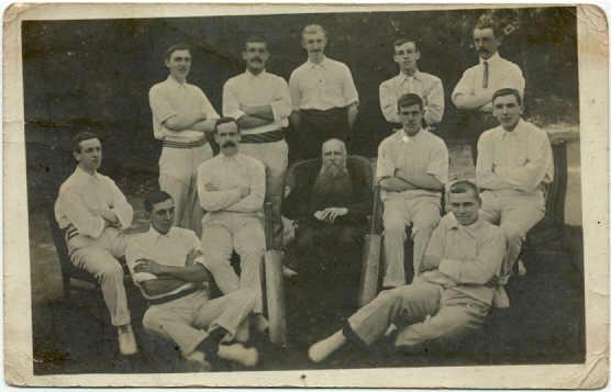 HELSTON CRICKET TEAM 1900