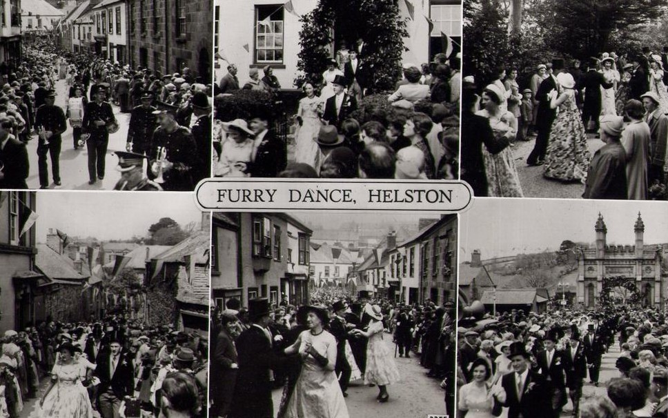 Flora Day Dance S Helston History