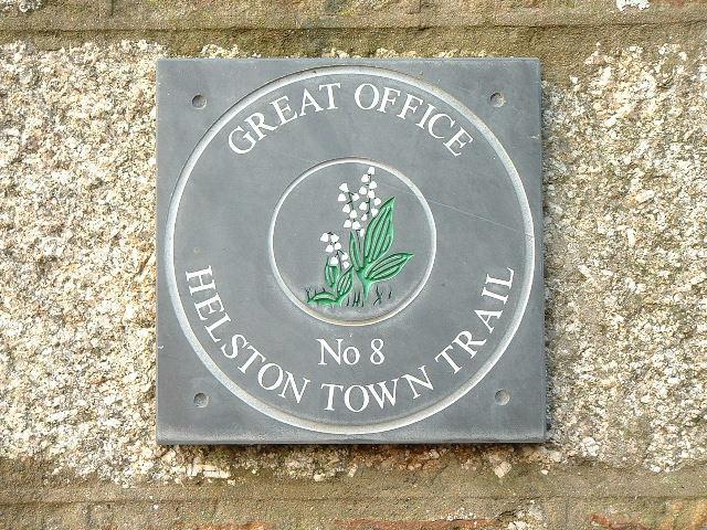 GREAT OFFICE HELSTON TOWN TRAIL
