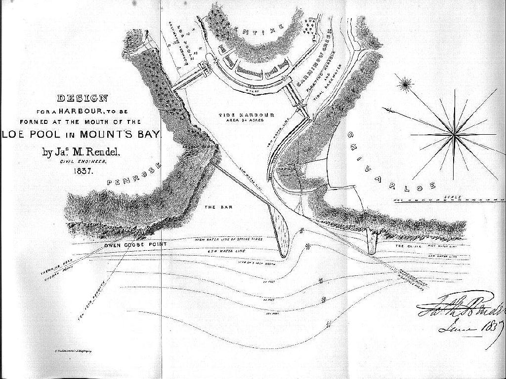 HELSTON HARBOUR PLAN