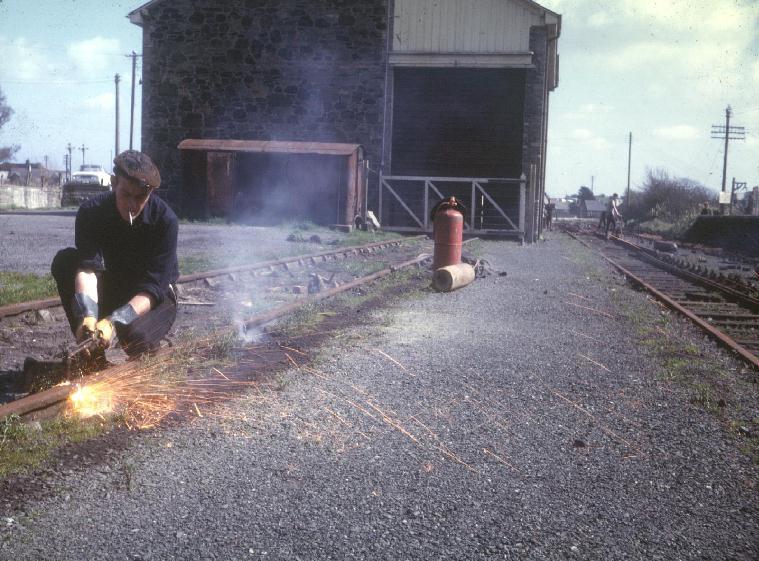 HELSTON RAILWAY STATION 1965