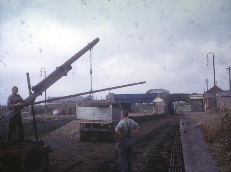 NANCEGOLLAN STATION 1965