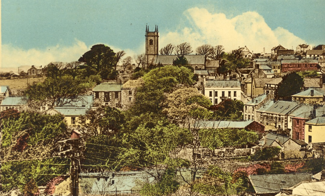 Helston Town Centre Helston History