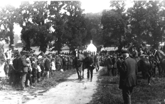 Horse Requisitioning by Government Officials at lower part of Helston