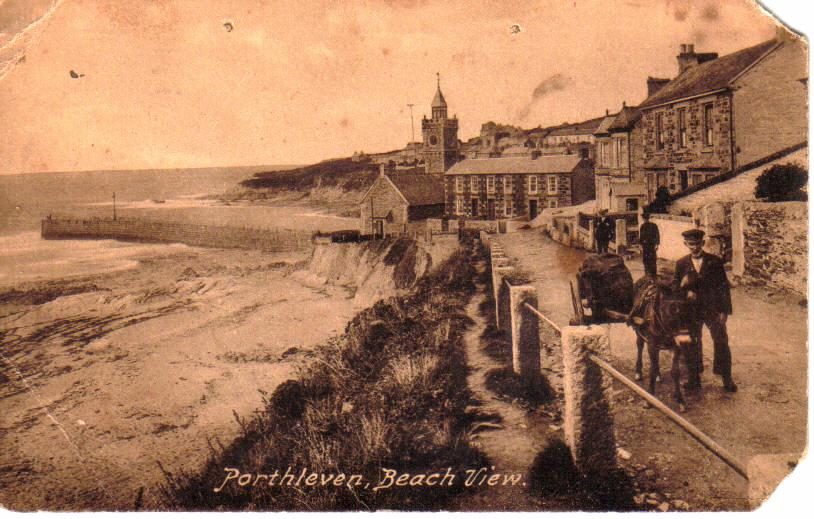 OLD PORTHLEVEN BEACH VIEW