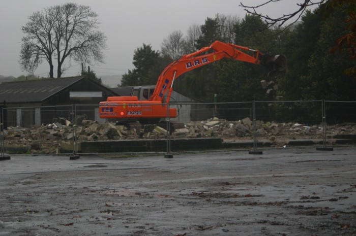 HELSTON NEW CATTLE MARKET DEMOLITION