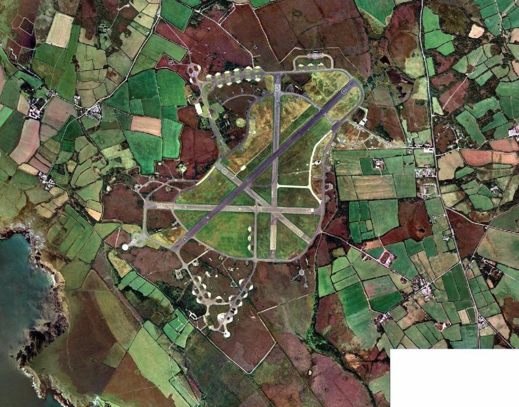 RAF PREDANNACK AERIAL PHOTO