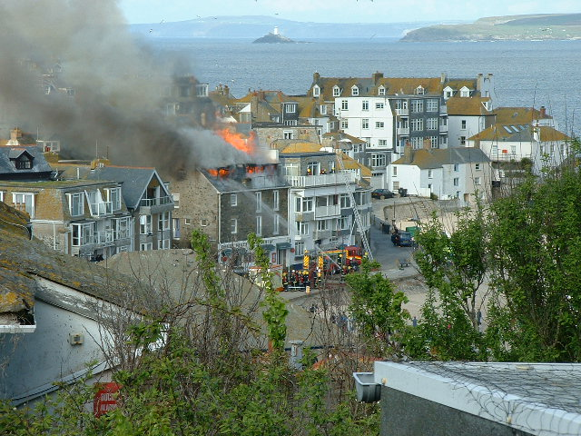 ST IVES FIRE