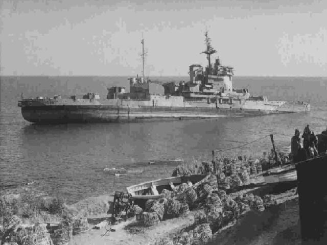 HMS WARSPITE PRUSSIA COVE