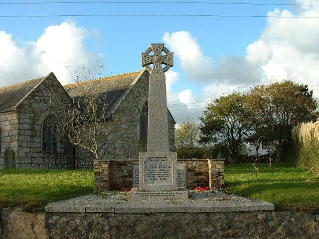 WENDRON WAR MEMORIAL