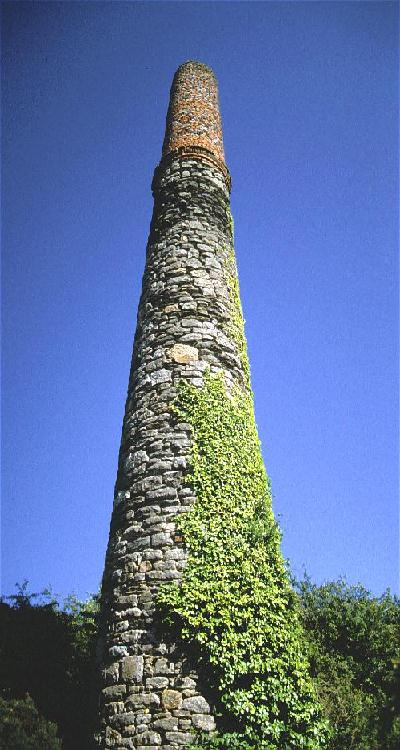 Wheal Vor Mine Stack